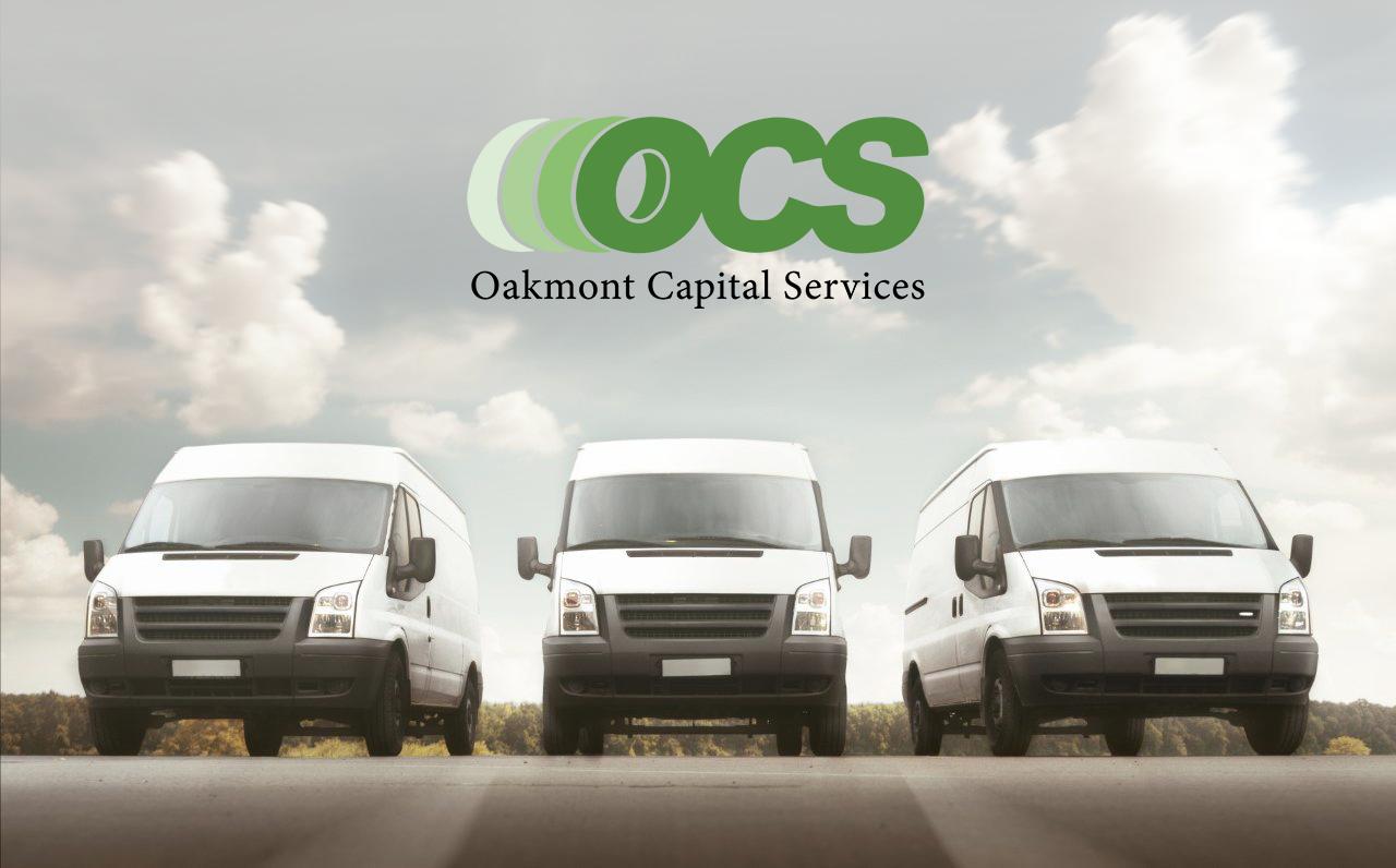 fedex fleet with oakmont logo